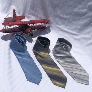 CK/Merona Narrow Tie Bundle